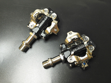 Titanium spindle axis MTB or racking road bicycle clipless as XTRR-M980 mtb  SPD pedal