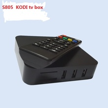 7 Android TV Box Amlogic S805 Quad Core Smart TV 1G/8G HDMI OTG RJ45 USB H.265/HEVC 1080P XBMC Miracas 10pcs DHL