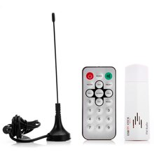 Mini Digital USB 2.0 Analog Signal TV Stick Box Worldwide TV Tuner Receiver FM Radio with Remote Control for PC Laptop