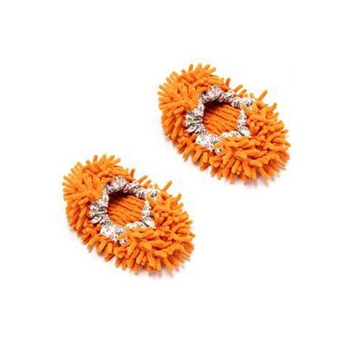 Multi-Function Chenille Fibre Washable Dust Mop Slippers - Random Color (Pair)<br><br>Aliexpress