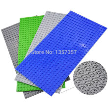 16*32 dots Baseplate 4pcs/lot Building Blocks Parts Bricks Bsae Plate 4 Colors Toys