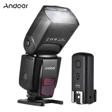 Andoer AD560 IV 2.4G Wireless Universal On-camera Slave Speedlite Flash Light GN50 w/Flash Trigger for Canon Nikon Sony A7 DSLR(China)