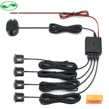 22mm Car Parking Assistance Sensor Buzzer Reverse Radar Detector System Reverse Sound Alert , 4 Sensors 6 Color(China)