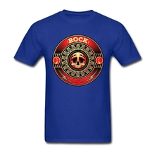 Custom Made O Neck Young Rock Vinyl T Shirt Low Price Round Collar Mens Clothing