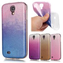 Luxury Glitter Bling Soft For Coque Samsung Galaxy S4 Case Silicone TPU Gradient Phone Case Samsung Galaxy S4 Cover Accessories
