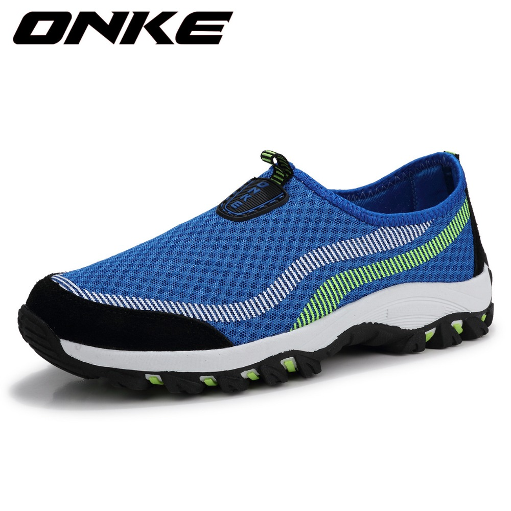 2017 Hotsale Onke Men Women Nice Running Shoes Ladies Breathable Mesh Sneakers Sports Shoes For Men Wearable Super Cool Shoes<br>