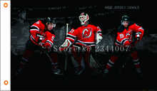 NHL New Jersey Devils Flag 3x5 FT 150X90CM Banner 100D Polyester flag  free shipping 114