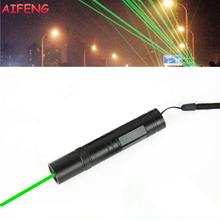 AIFENG Laser Pen 532nm Green Laser Beam 3000M Laser Pointer 16340 Battery Powered Portable Light For Teaching Training Laser Pen
