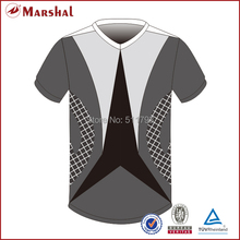 2015 Grade original soccer wear design customized free shipping soccer jersey(China)