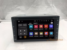 Quad Core Android7.1 Car Radio auto DVD CD Player GPS Navigation Multimedia For Nissan For Toyota Most of 2DIN 173*98 size Unit(China)