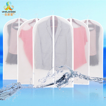 White Color Must-have Home Zippered Garment Bag Clothes Suits Dust Cover Dust Waterproof Bags Storage Protector 1 PCS