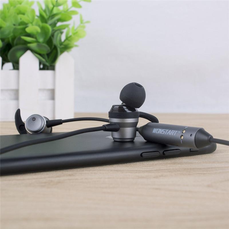 Wonstart TS04 BT 4.1 fone de ouvio Bluetooth Wireless Magnetic In-ear Sport Earphone Support Aptx With Mic & Charge Case earbuds