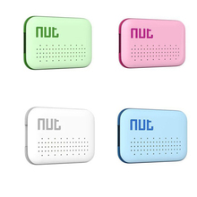 Portable Nut Mini Smart Tag Bluetooth GPS Tracker Key Alarm Anti-lost Finder Locator for Kid Children Pet Cat Dog Outdoor Travel