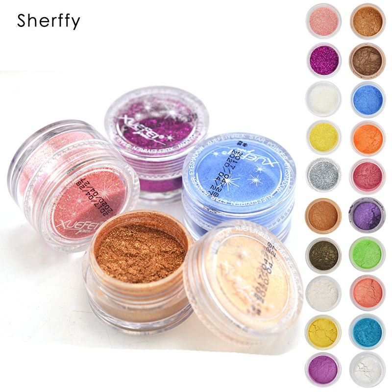 20 Colors Eye Shadow Makeup Powder Naked Pigment Mineral Shimmer Matt Shadows Make Up Highlighters Brightens Brands Eyeshadow (1)