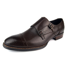 Italian Designer Oxford Vintage Dress Shoes Brand Genuine Leather Men Casual Shoes Male Business Wedding Shoes Plus Size