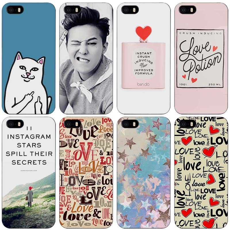Trendy Girl Love Potion Chill Pills Ripndipp Rock Kitten Cat Black Plastic Case Cover Shell for iPhone Apple 4 4s 5 5s SE 5c 6 6(China)