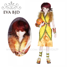 1/3 BJD Doll 60cm 19 jointed dolls Sunny Boy Male dolls ( Free Eyes + Hair + Makeup + Clothes + Shoes )  EVA BJD DA001-13