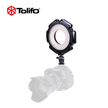 Tolifo R-160S 160 Ultra Thin Led Video Light LED Ring Light For Macro Photography Dimmable Digital Camera Camcorder Nikon Video