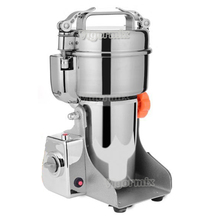 700g Swing Type Electric Grains Herbal Powder Miller Dry Food Grinder Machine high speed Intelligent Spices Cereals Crusher(China)