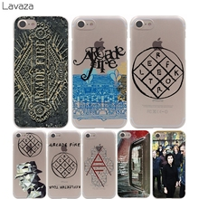 Lavaza The Arcade Fire Cover Case for iPhone X 10 8 7 Plus 6 6S Plus 5 5S SE 5C 4 4S Cases(China)