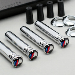 4PCS/Set M Tech Stainless Steel Car Lock Modified Door Pin For ///M BMW E36 E46 E63 E64 E81 E82 E46 E52 E53 E60 E90 Car stickers & Special Offer of door pins in Psllb pezcame.com