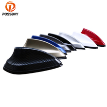 POSSBAY Car Antenna Shark Fin Antenna Radio FM Signal Aerials for VW Polo Ford Kuga Chevrolet Cruze Nissan qashqai Peugeot(China)