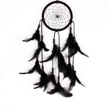 Feather Dream Catcher Net Bead American Style crafts Wall Hanging Decor Ornament
