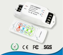 BC-313-CC 2 channel constant current led 12V - 48V Color temperature  CT controller , wireless led rf dimmer  350mA/700mA x2CH