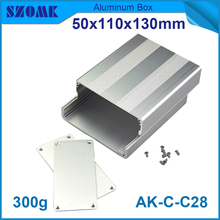 4 pieces diy aluminum enclosure explosion proof junction box 50*110*130mm small electronic enclosure