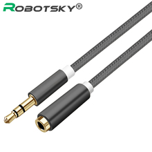 3.5mm Audio Extension Cable Stereo Male to Female Aux Phone Cable Adapter For iPhone MP3 CD Player Radio Headphone PC earphone