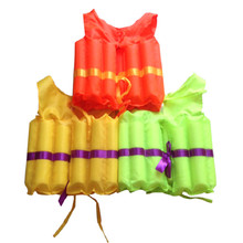 Outdoor Adult Life Vest Foam Life Jacket Kids Swimming Vests Child Life Vest For Kids Child Swim Vest Lifejacket Float Swimsuit(China)