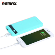 REMAX 12000mAh Power Bank Dual USB LED LCD bateria externa Powerbank External Mobile Battery Charger Backup Pack For iPhone 6s(China)