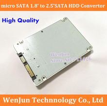 NEW 1.8' micro sata SSD HDD to 2.5' sata adapter card with case  SSD 1.8inch solid hard disk protect box  MA970 A1186