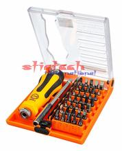 by dhl or ems 10set JM-6091 37 in 1 screwdriver Set hand tools screw driver hex torx bit repair  tool  laptop android phones