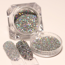 1 Box BORN PRETTY Laser Paillette Nail Glitter Powder 1.5g Holo Gold Silver Nail Art Dust Decorations Manicure Nail Art Sequins(China)