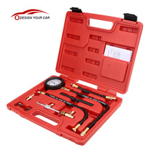 TU-113 Fuel Injection Pump Injector Tester Pressure Gauge Test Gasoline 0-100psi(China)