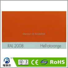 Best seller RAL 2008  spray powder coating manufacfure