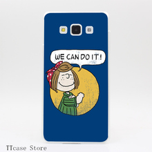 2760CA POWER TO THE PEANUTS Transparent Hard Cover Case for Galaxy A3 A5 A7 A8 Note 2 3 4 5 J5 J7 Grand 2 & Prime