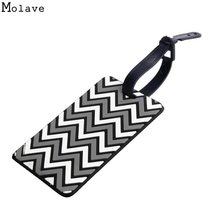 New Fashion Airplane Rubber Luggage Tag Personality Special Pilot Shoulder Mark Handbag Tag Travel Accessories Dec20(China)
