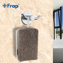 Frap Zinc alloy Robe hook wall mount single screw towel holder Bathroom Accessories clothes hook F305(China)