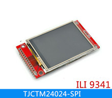 NoEnName_Null 2.4 inch SPI TFT screen module with touch panel least need 9IO ILI9341 LCD display