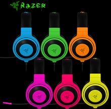 Professional Gaming Headset New Razer Kraken Game Headphone Computer Earphone Noise Isolating Earbuds With Mic For DOTA2 CF LOL