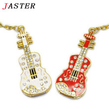 JASTER hot sale Diamond crystal violin Model usb flash drive memory stick music pendrive 4gb 8gb 16gb 32gb thumb drives/gifts