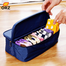 ORZ Fashion Double Open Travel Storage Bag Multifunctional Waterproof Storage Box Package Luggage Underwear Socks Tidy Organizer(China)
