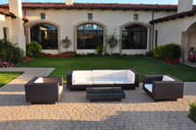 Hot Sale rattan garden furniture outdoor sofa sets modern couches for sale(China)