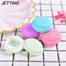 1PCS Macaron Jewelry Earring Necklace Display Storage Case Make-up Jewelry Box Coin Purse Mini Candy Pill Box