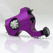 Premium Purple PVD Aluminum Bishop Rotary Tattoo Machine Wholesale Tattoo Supply  Liner Shader Combined