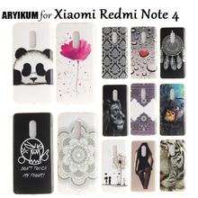 ARYIKUM Silicon Case Xiaomi Redmi Note 4 Pro Prime 4Pro Case Redmi Note4 Phone Cover Xaomi Xiami Xiomi Redmi Note 4