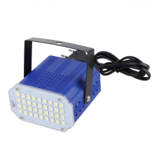 36W high power White 36pcs 5050 LED Stage Light DJ Blue Strobe Flash Light Club Party festival Bulb AC100-240V 50-60Hz EU Plug