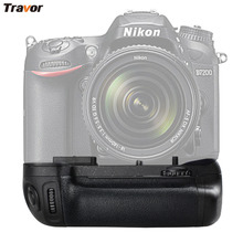 Professional Battery Grip Pack Holder for NIKON D7100/D7200 DSLR camera as MB-D15